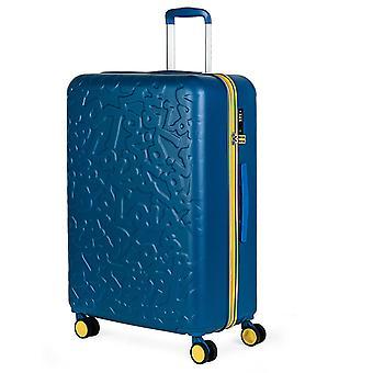 Lois Zion Trolley L, 4 wielen, 49 cm, 79,5 L, blauw