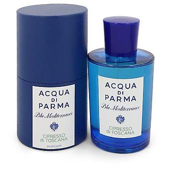 Blu mediterraneo cipresso di toscana eau de toilette spray by acqua di parma 550389 150 ml