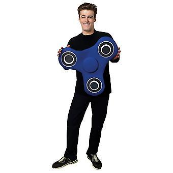 Blå Spinner tonåring kostym