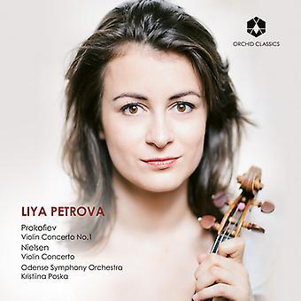 Prokofiev / Nielsen / Petrova - Violin Concerto 1 [CD] USA import