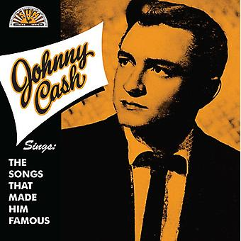 Johnny Cash - Sings the Songs That Made Him Famous [Vinyl] USA import