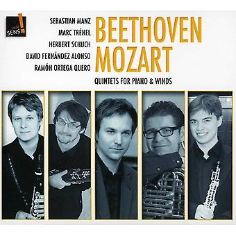 L.V. Beethoven - Beethoven, Mozart: Quintets for Piano & Winds [CD] USA import