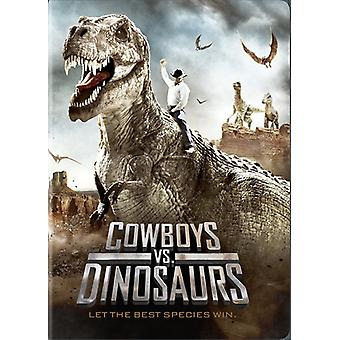 Cowboys vs Dinosaurs [DVD] USA import