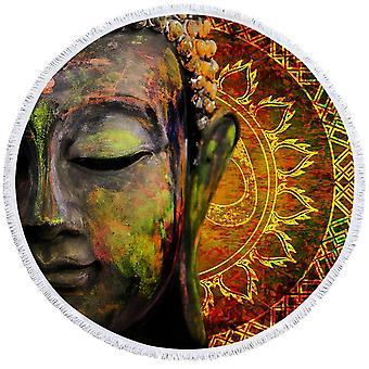 Taide maalaus Buddha ranta pyyhe