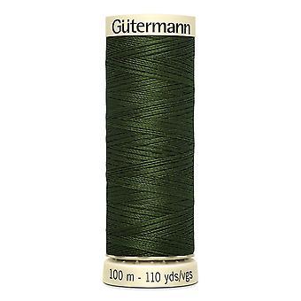 Gutermann Naai-alle 100% polyester draad 100m hand en machine kleurcode - 597