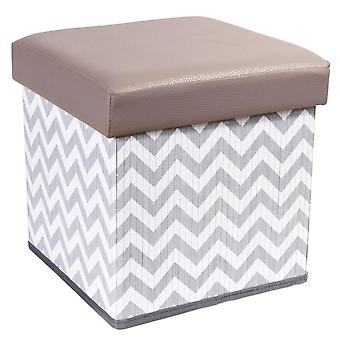 Tatkraft, Fort - Chevron Patterned Pallet with Storage