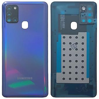Samsung MEA Battery Cap Battery Lid Battery Cover for Galaxy A21s A217F Blue New