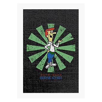 George Jetson Retro Japanese A4 Print