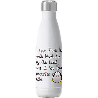 Im Your Favourite Child Insulated Stainless Steel Water Bottle
