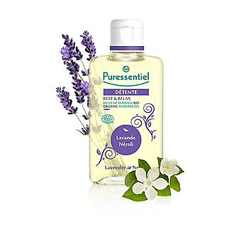 Lavander and Neroli Relax Massage Oil Eco 100 ml of oil