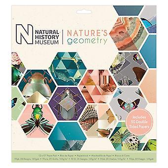 Papermania Природа-апос;s Геометрия 12x12 Дюймовый бумажный блокнот