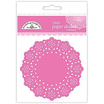 Doodlebug Design Bubblegum Mini Doilies (75kpl) (4597)