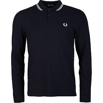 Fred Perry Authentics Slim Fit Long Sleeved Tipped Polo
