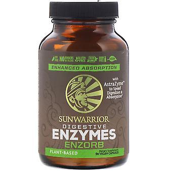 Sunwarrior, Enzorb spijsverteringsenzymen, 90 veganistische capsules