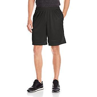 Hanes Men's Sport Mesh Pocket Short, Ebony, X-Large