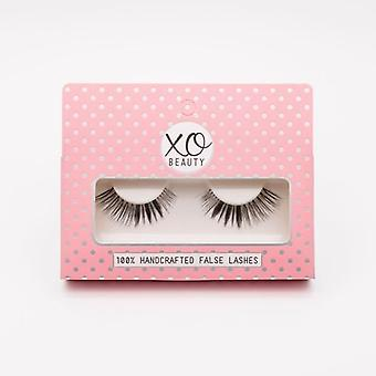 xoBeauty False Lashes - The Gold Digger - Dramatic Ultra Curled Winged Out