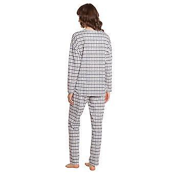 Rösch Smart Casual 1203529-16542 Women's Check Mix Pyjama Set