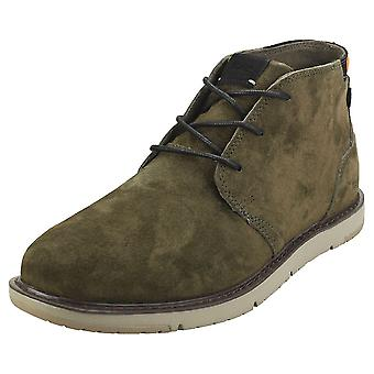 Toms Navi Mens Chukka Boots in Olive