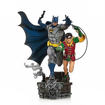 Batman & Robin Deluxe 01:10 Skala Statue
