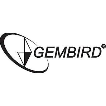 Gembird MUSW-002 Radio Wi-Fi mouse ottico nero, argento