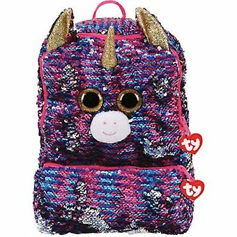 TY Rosette Square Back Pack - Sequined