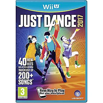 Just Dance 2017 Nintendo Wii U Game (Italiaanse doos - multi-taal in spel)