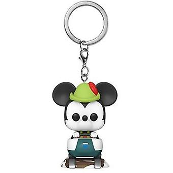 Disney 65th - Mickey W/Matterhorn USA import