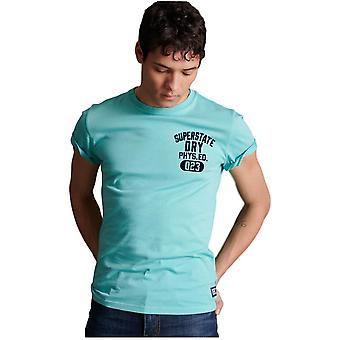 Superdry Superstate T-paita - Uima-allas Sininen