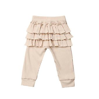 New Baby Ruffle Leggings, Toddler Casual School Long Pants