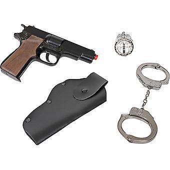 CAP GUN - 425/6 - Gonher Police Playset 8 Shots