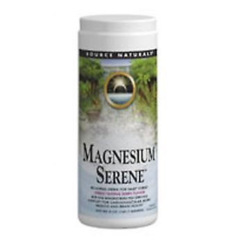 Source Naturals Magnesium Serene Powder, Tangerine Flavor 500 gm