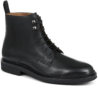 Jones Bootmaker Mens Leather Lace-Up Ankle Boot