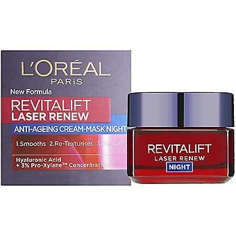 L'Oreal Paris Revitalift Laser Renew Night Cream Mask 50ml
