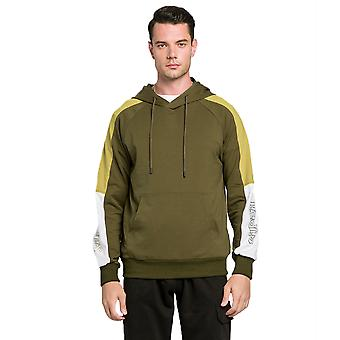 New Autumn And Winter Men's Stitching Hooded Sweater, Long-sleeved T-shirt Pullover,