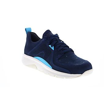 Camper Drift  Mens Blue Canvas Lace Up Euro Sneakers Shoes