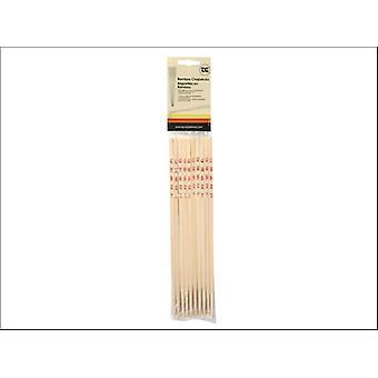 T & G Chopsticks Bambu x 10 Pares 02024