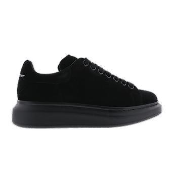 Alexander McQueen Sneaker Leath S.Rubb Daim Musta 558943WHV671000 kenkä