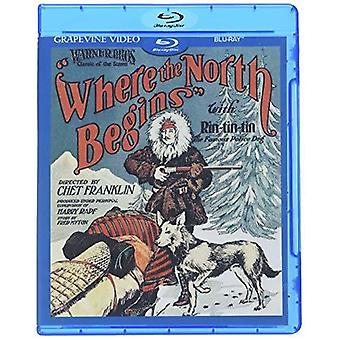 Where The North Begins (1923) [Blu-ray] USA import