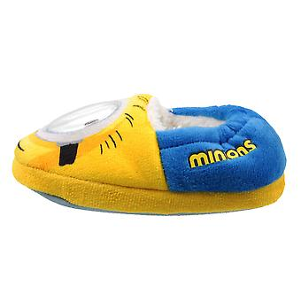 Minions Boys The Rise of Gru Shakey Eye Yellow Comfort Slippers