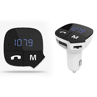 Aquarius Bluetooth FM Transmitter Hands-free Car Kit - Blanc