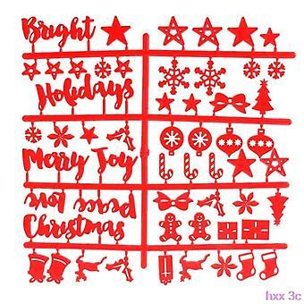 Christmas Felt Sign Board, Plastic Letters Voor Vilt Letters Teken bord