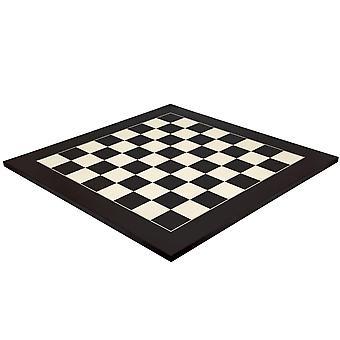 23,6 дюймовый матовый черный и клен Делюкс шахматная доска