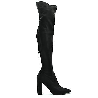 Steve Madden Ezbc077016 Women's Black Suede Boots