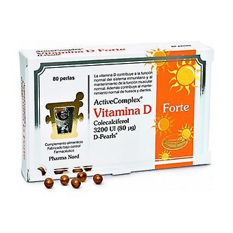 ActiveComplex Vitamin D Forte 80 softgels