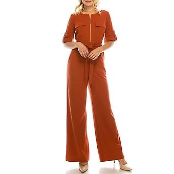 Crepe Jumpsuit With 4 Pockets