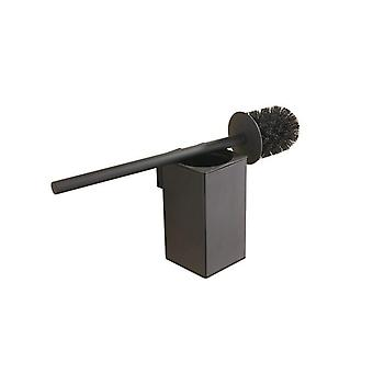 Wall Mounted Stainless Steel Inner Plastic Bucket Toilet Brush Holder