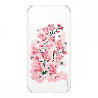Schale für Iphone 12 Mini (5,4) Weich Kirschblüten