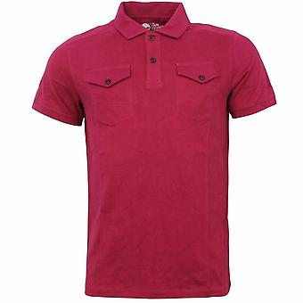 Timberland Slim Fit 2 Button Up Collared Katoen Heren Polo Shirt 7038J 637 A22C