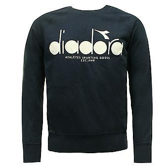 Diadora Sportswear Masculino Moletom Pullover Jumper Navy 502 161925 60065 A66B