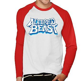 Sega Endret Beast Logo Menn's Baseball Langermet T-skjorte